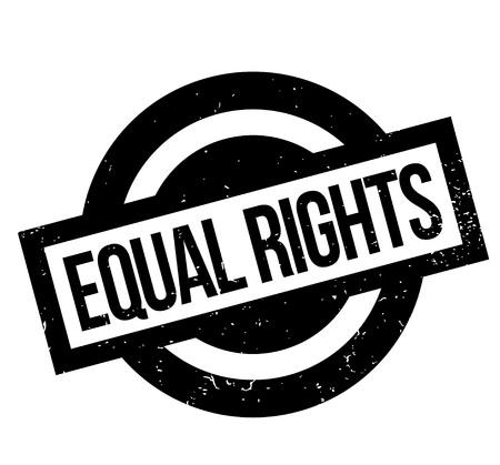 opportunity sign: Equal Rights rubber stamp vector illustration. Illustration
