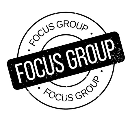 Focus Group rubber stamp Stok Fotoğraf - 84009010