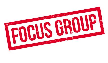 Focus Group rubber stamp Stok Fotoğraf - 83800435
