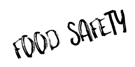 Food Safety rubber stamp