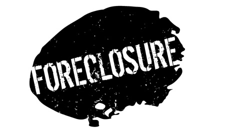 Foreclosure rubber stamp Illustration