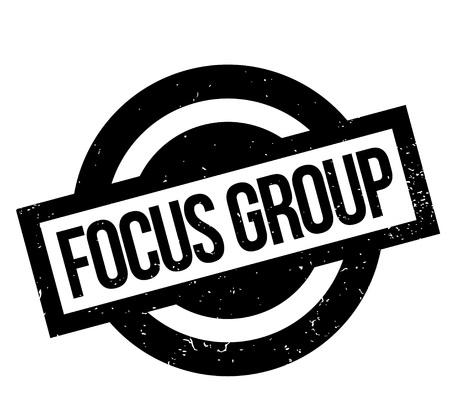 Focus Group rubber stamp in grunge design with dust scratches. Stok Fotoğraf - 83800132