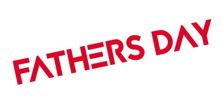 dedicate: Fathers Day rubber stamp
