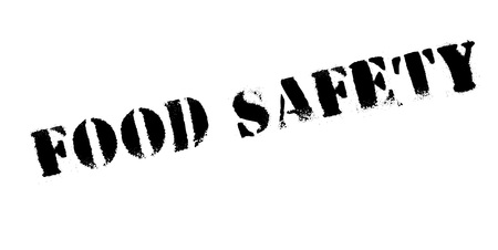 security symbol: Food Safety rubber stamp