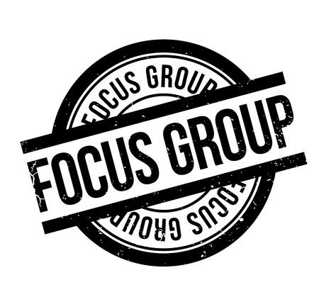 Focus Group rubber stamp Stok Fotoğraf - 84009169