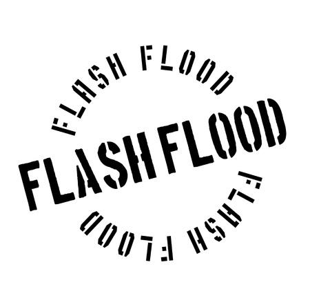 heavy: Flash Flood rubber stamp