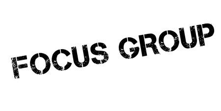 Focus Group rubber stamp Stok Fotoğraf - 84259655