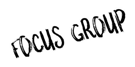 Focus Group rubber stamp Stok Fotoğraf - 83814428