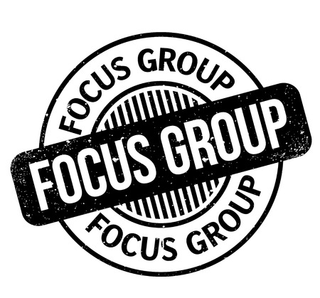 Focus Group rubber stamp Stok Fotoğraf - 83800145