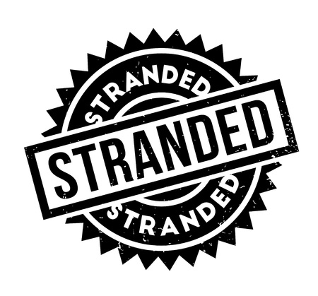 abandon: Stranded rubber stamp