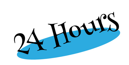 availability: 24 Hours rubber stamp