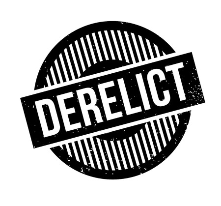 delinquent: Derelict rubber stamp. Grunge design with dust scratches. Effects can be easily removed for a clean, crisp look. Color is easily changed. Illustration