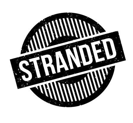 Stranded rubber stamp