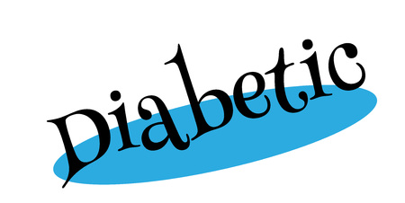 Diabetic rubber stamp
