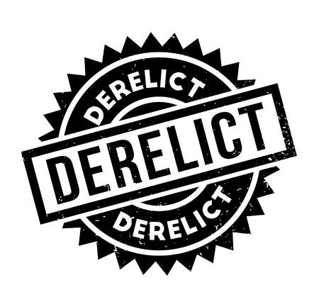 Derelict rubber stamp