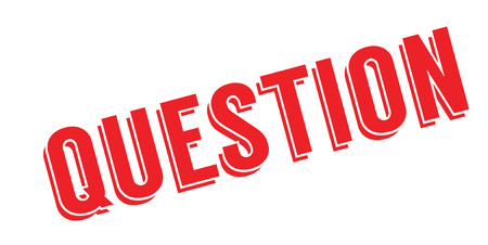 Question rubber stamp Stock Vector - 84015088