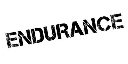 Endurance rubber stamp