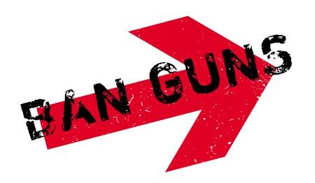debating: Ban Guns rubber stamp