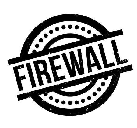 Firewall rubber stamp