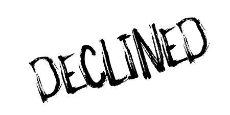 dismissal: Declined rubber stamp