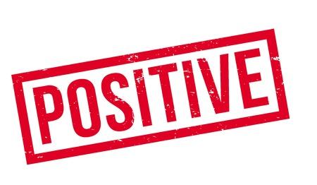 Positive rubber stamp Stock fotó