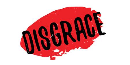 irrespeto: Sello de goma de la deshonra