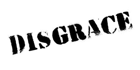 Timbro di gomma di disgrazia Archivio Fotografico - 84083024