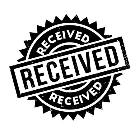 delivered: Received rubber stamp