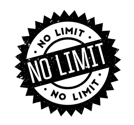 No Limit rubber stamp