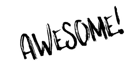 accomplish: Awesome rubber stamp