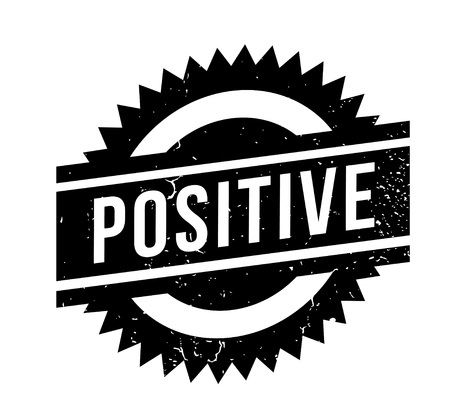 Positive rubber stamp Ilustrace