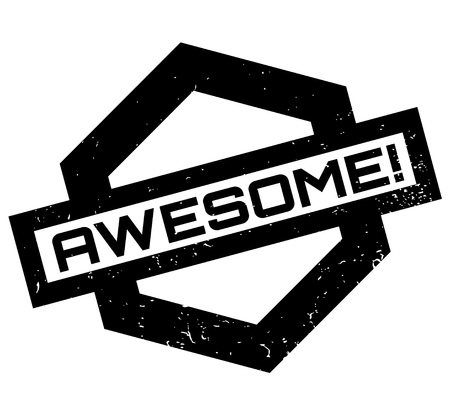 Awesome rubber stamp