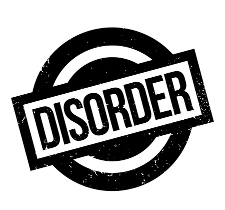 Disorder rubber stamp