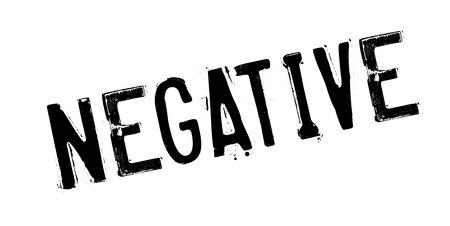 Negative rubber stamp Stock Photo