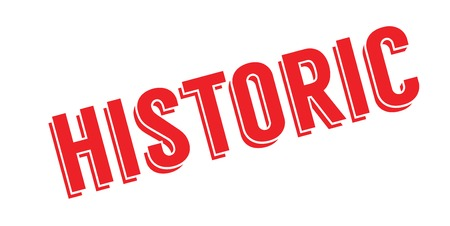 Historic rubber stamp
