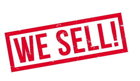 sell: We Sell rubber stamp