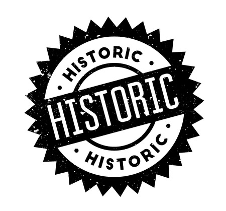 Historic rubber stamp Vector illustration.