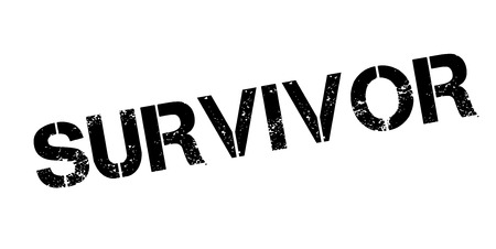 Survivor rubber stamp