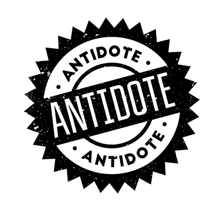 Antidote rubber stamp Stock Vector - 84413824
