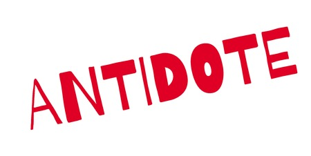 Antidote rubber stamp Illustration