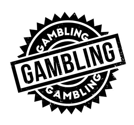 Gambling rubber stamp