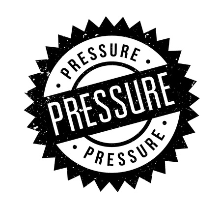 tensed: Pressure rubber stamp