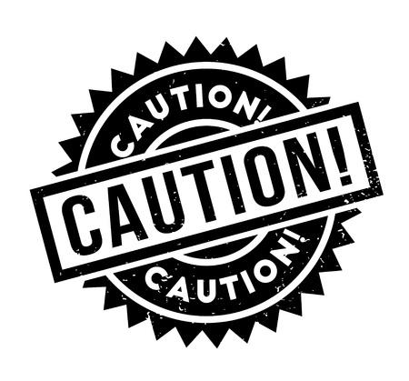 Caution rubber stamp Stok Fotoğraf - 84293847