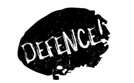 security symbol: Defence rubber stamp