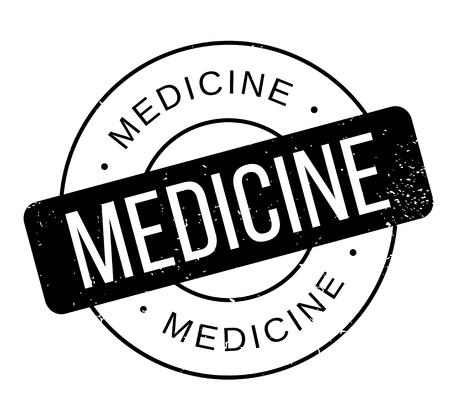 rubber stamp de la médecine Vecteurs