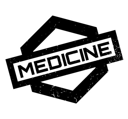 Medicine rubber stamp