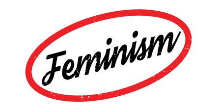 discriminate: Feminism rubber stamp