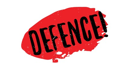 Defence rubber stamp