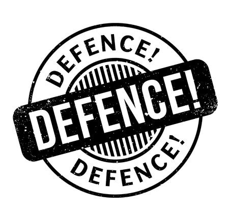 Defence rubber stamp
