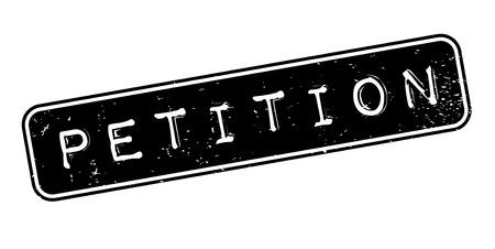 Timbro di gomma petizione